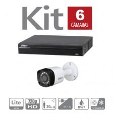 Kit 6 Cámaras de Videovigilancia + Instalación